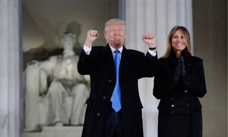 Protocolo en la toma de posesión de Donald Trump