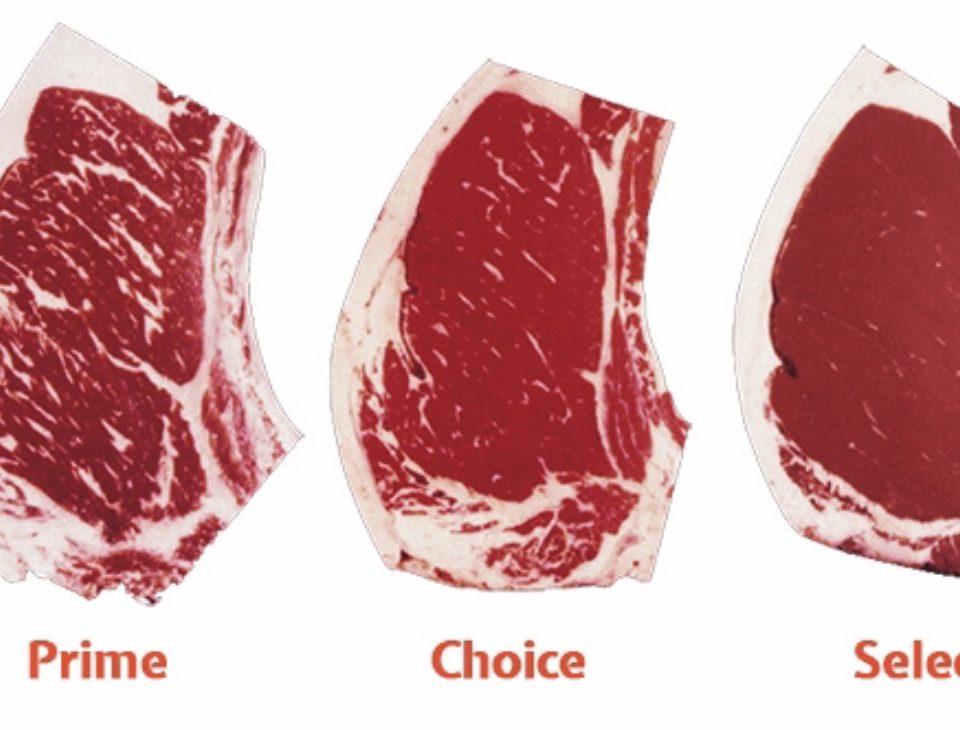 carne Prime, Choice o Select