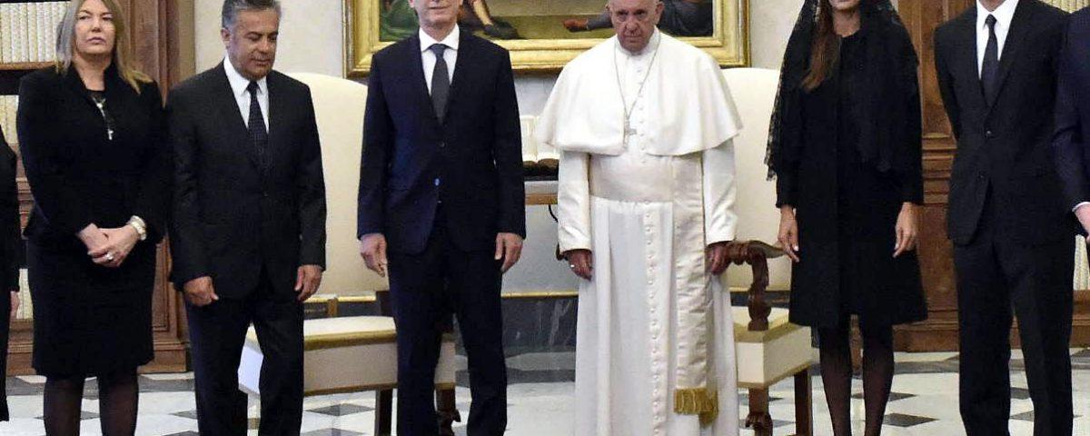 Vestuario para visitar al papa