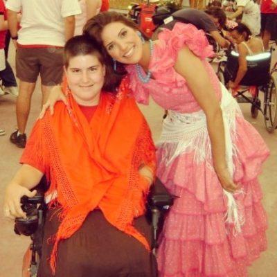 En el Campamento Internacional de la Orden de Malta para jóvenes con discapacidad, en España.